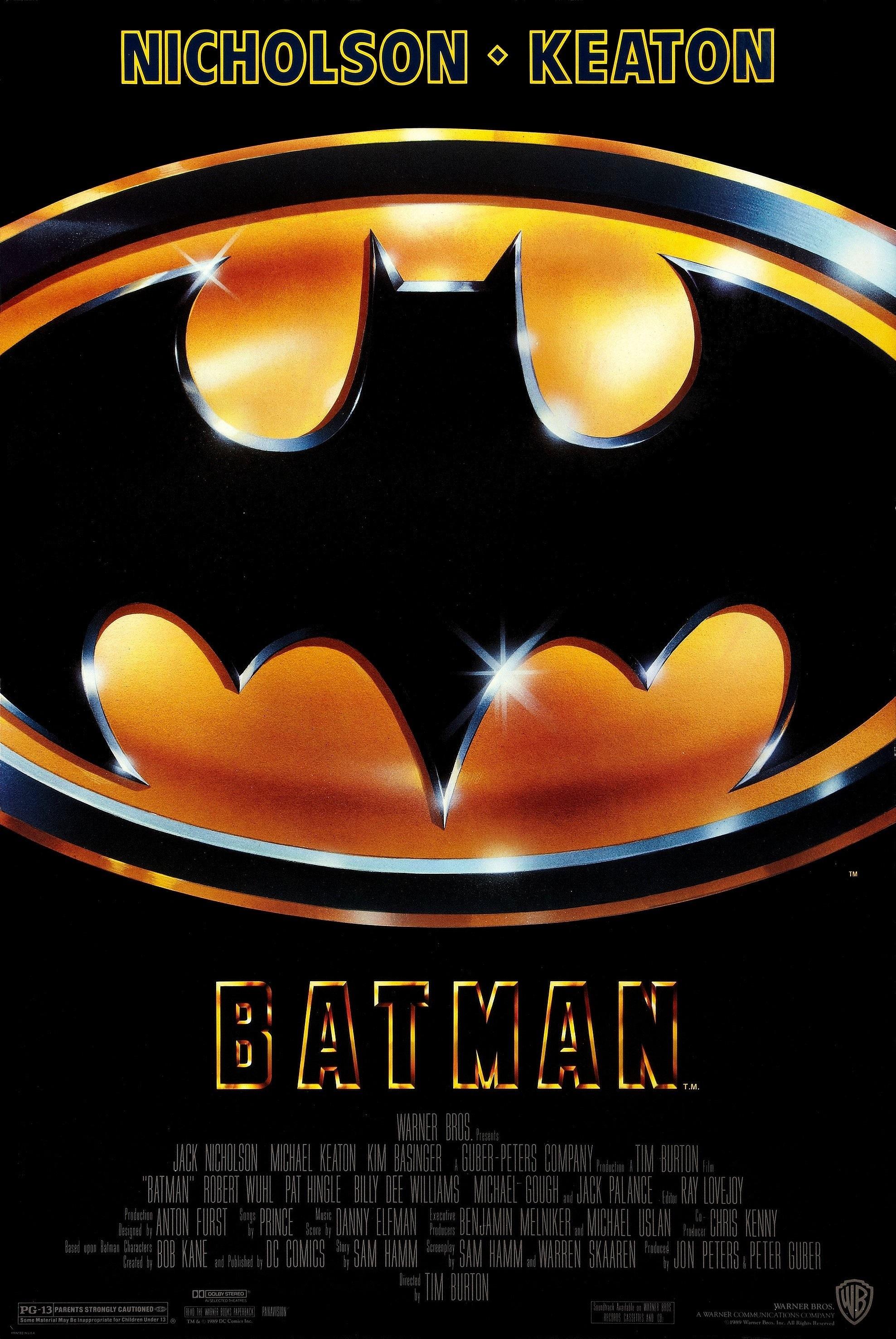 Batman (1989)   Last Road Reviews