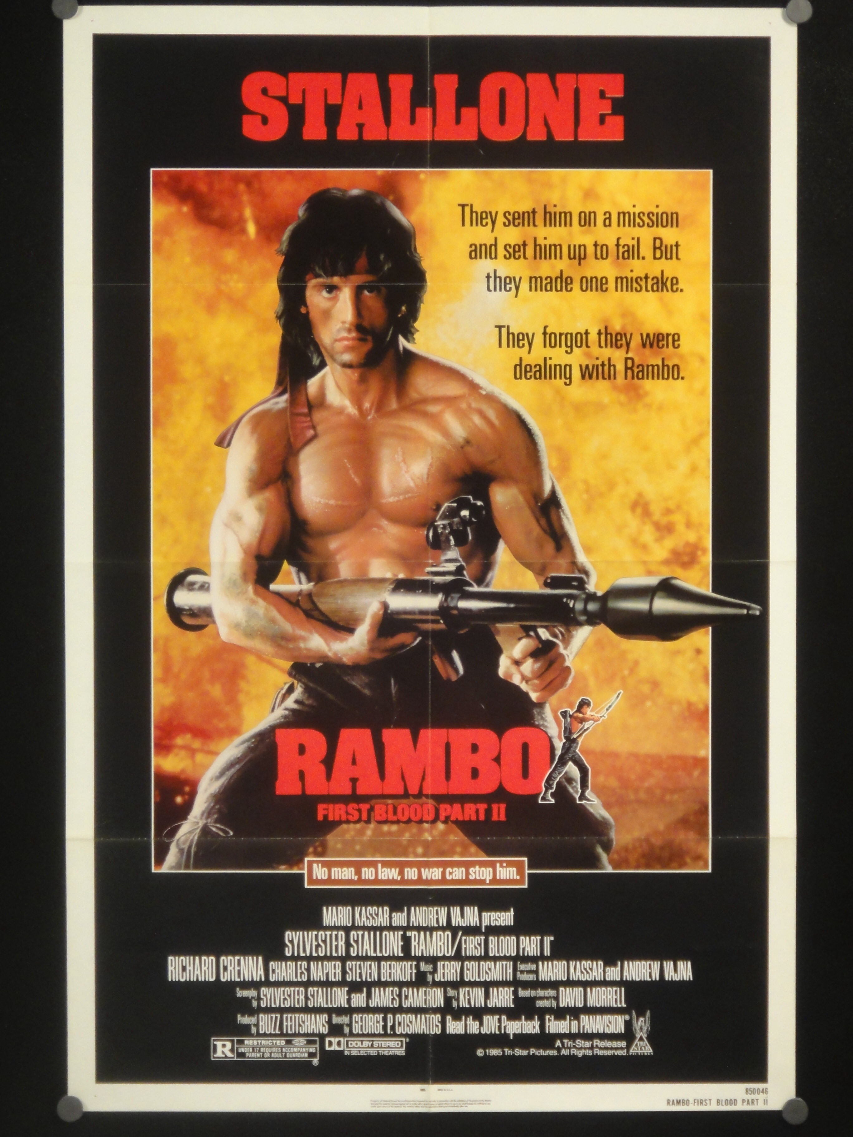 Rambo First Blood Part Ii 1985 Review Last Road Reviews